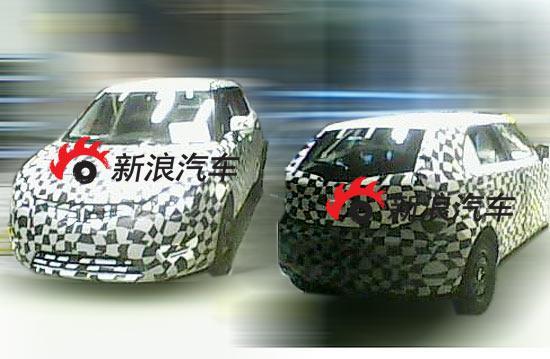 图3:近日新浪汽车收到了真正意义上的荣威150伪装谍照从而揭露出荣威150的外观造型