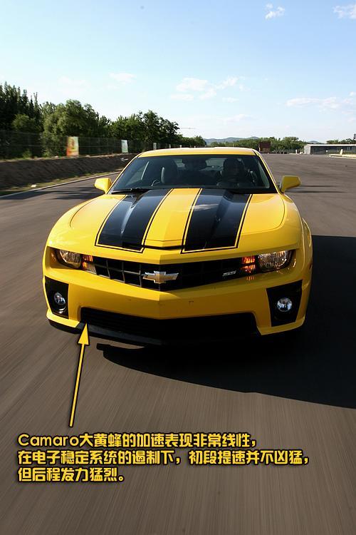 <a href='http://data.auto.sina.com.cn/651' class=akey target=_blank>雪佛兰Camaro</a>大黄蜂外观图片