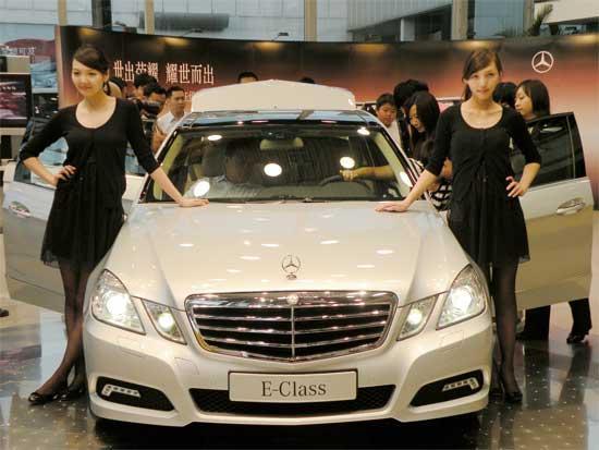 北京博瑞祥驰汽车销售服务中心在万众的期待下于2009年6月19日晚举办了梅赛德斯-奔驰新款E级轿车预赏会