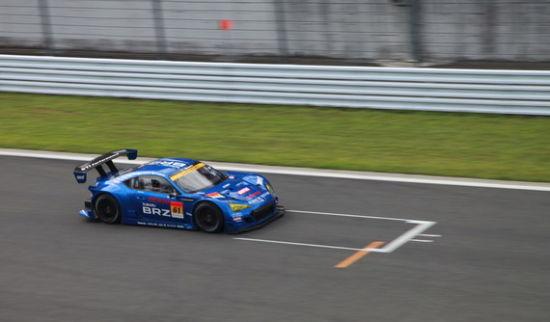 斯巴鲁BRZ首次参加Super GT赛事