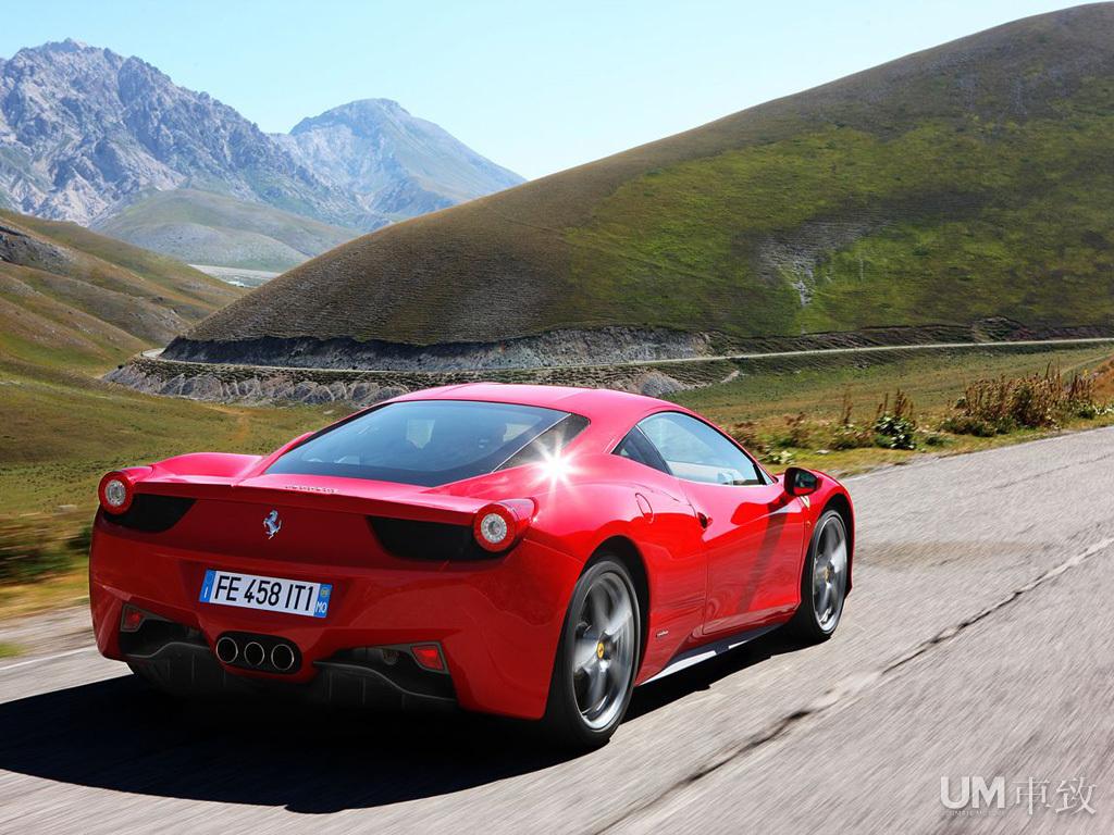 燃烧吧,法拉利!--试驾法拉利458 Italia