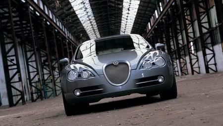 组图:2003捷豹R-D6概念车