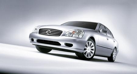 NISSAN顶级豪华车CIMA中国上市约93万多(组图)