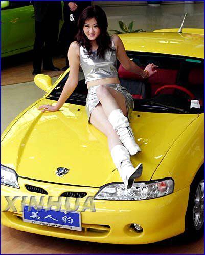 吉利美人豹跑车在杭州上市售价12.99-14.88万