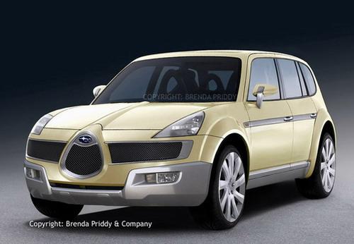 富士将在北美推出的新款SUV(图)