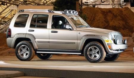 车展现场:2005款JeepLiberty(图)