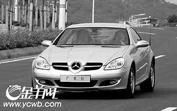 梦幻奔驰--试驾奔驰SLK200