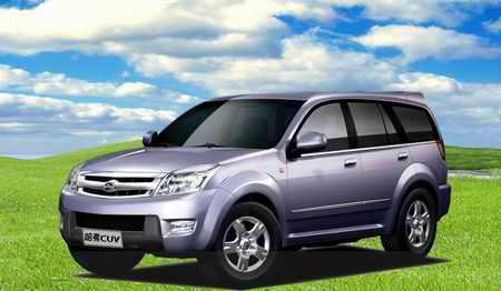 长城K1定名哈弗CUV目标锁定中高档SUV市场(图)