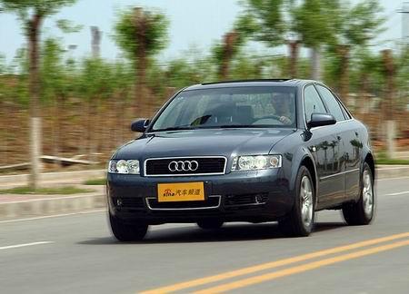 刹车大测评:奥迪A41.8T