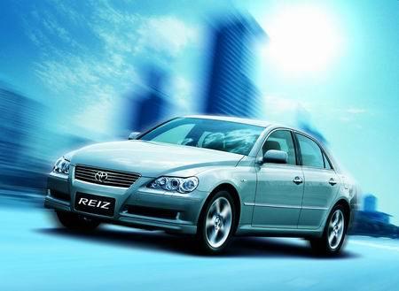 丰田4款新车型首次亮相上海车展锐志秋季上市