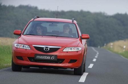 组图:上海车展展车Mazda6SportWagon介绍