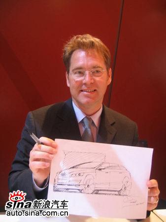 访奥迪Q7设计师:Q7将成为SUV的发展趋势(图)