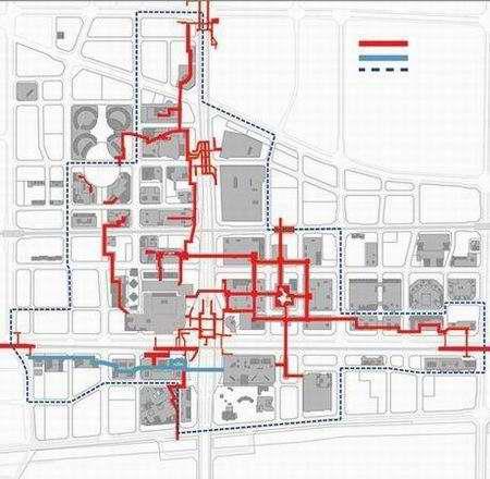 北京CBD将有5公里地下连廊人行通道年内完成