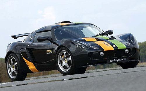 莲花研发出以乙醇为燃料的Exige265E跑车