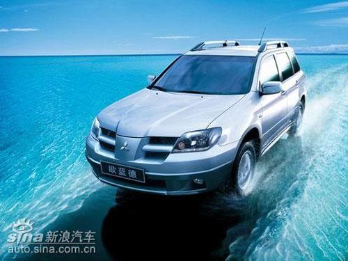 SUV市场价格变动三菱欧蓝德优惠过万元(图)