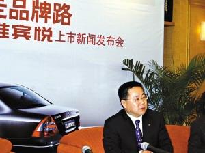 江淮轿车营销公司总经理严刚:2010年前6款轿车