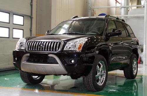 柴油版瑞鹰将于大连车展正式上市