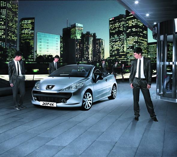 标致207CC北京开卖共计两款车型六种颜色(图)
