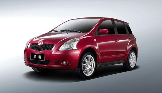 长城炫丽11月6日正式上市首推1.3L车型(图)