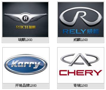 奇瑞新四大品牌:开瑞(Karry)品牌