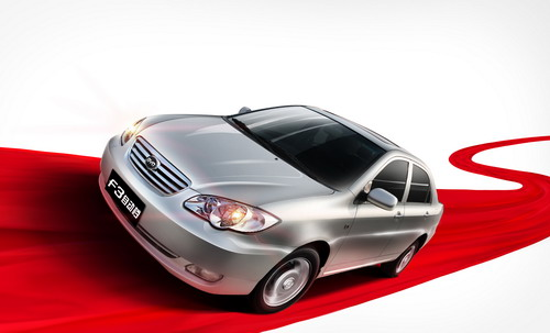 比亚迪F3官方最高降万元最低售价5.58万元