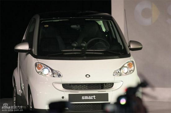 Smart正式投放中国市场售价15.8万-20.6万