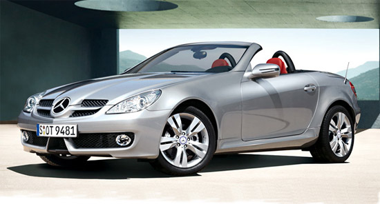 沪上奔驰SLK280优惠3.9万元最低售70万元