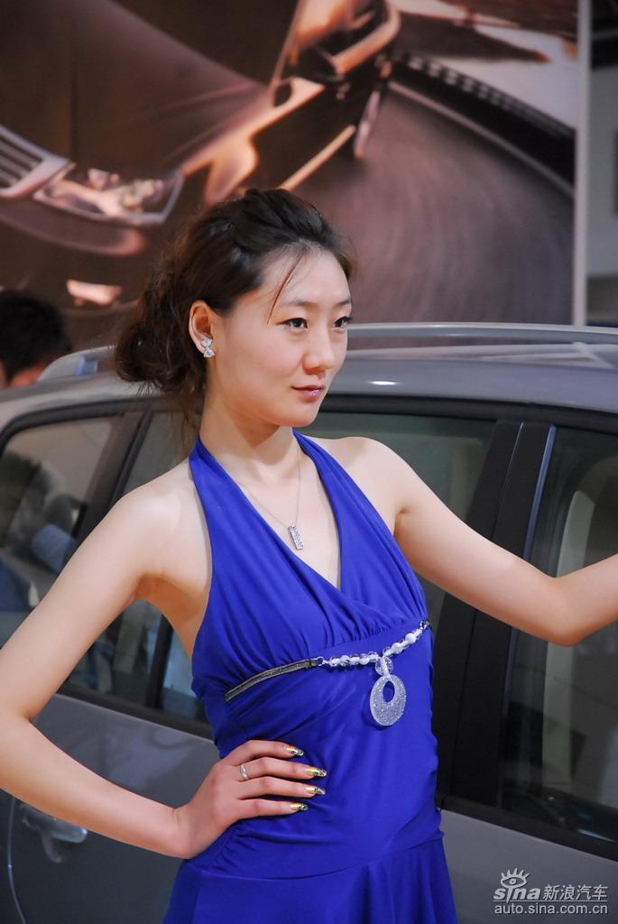 2009北京汽车展览会车模图片集锦
