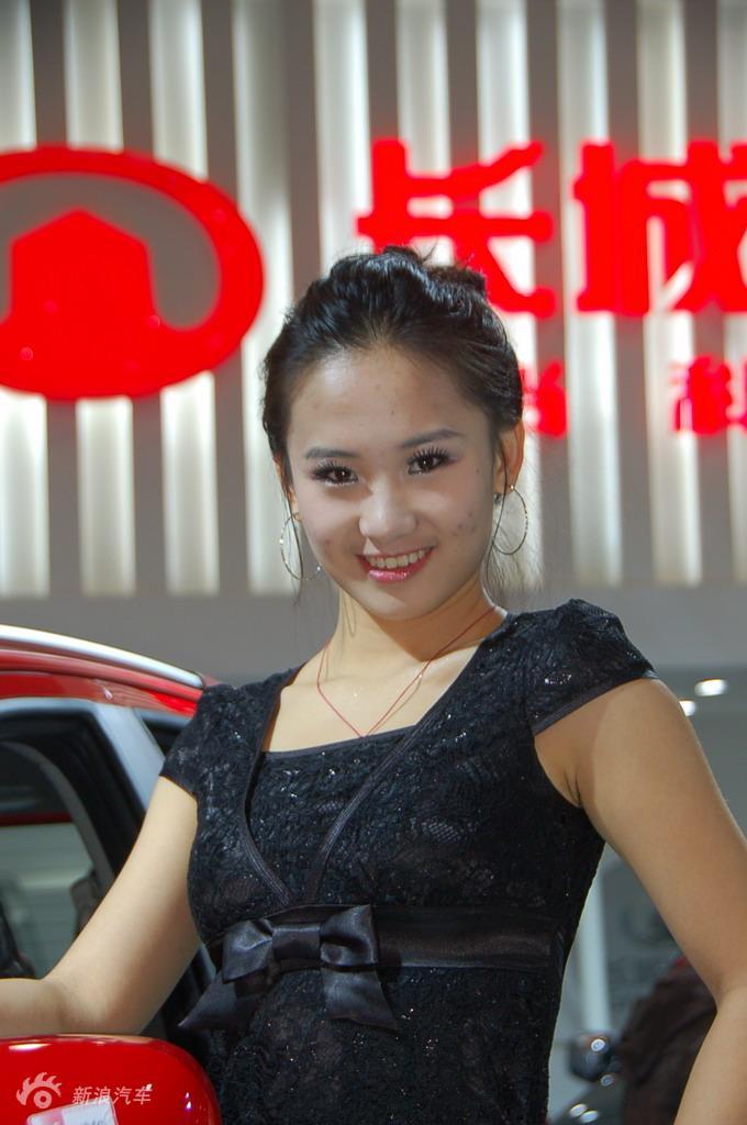 2009长沙车展模特图片