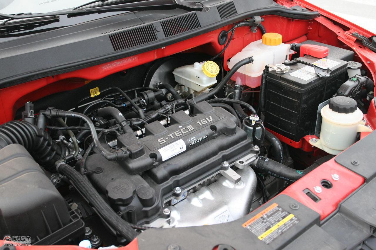 雪佛兰新赛欧1.4升引擎及底盘