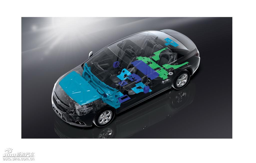 雪佛兰科鲁兹车身结构图