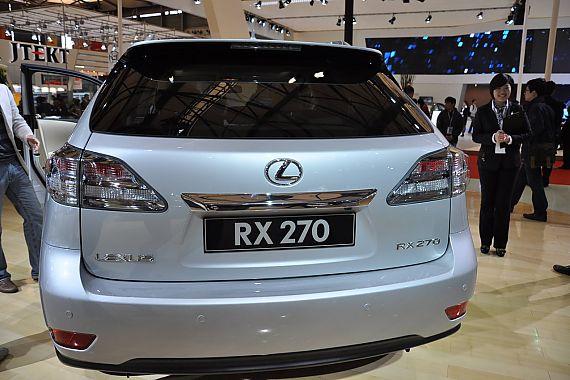 雷克萨斯RX270