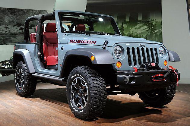 全副武装 Jeep牧马人Rubicon十周年版