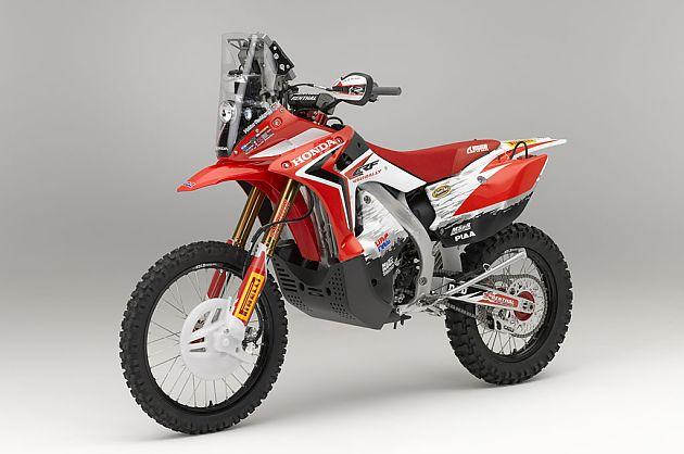 本田量产CRF450 Rally摩托车