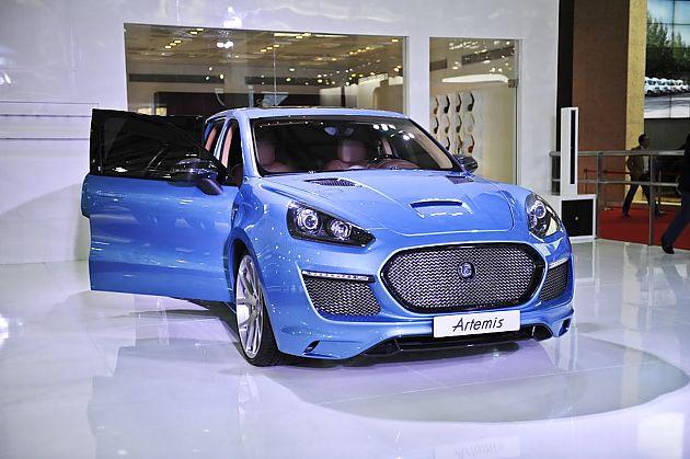 高端进阶公式 上海车展上的定制车品牌