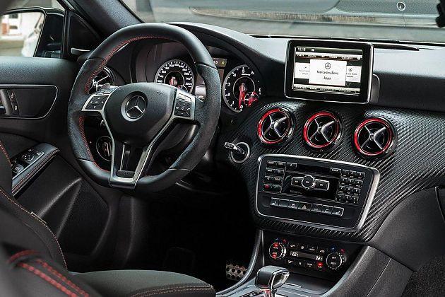 梅赛德斯奔驰A45 AMG技术细节公布