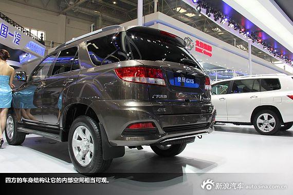 新浪汽车图解广汽吉奥奥轩GX5