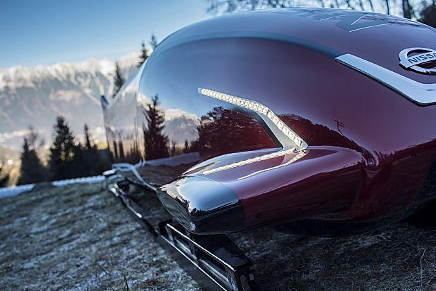 NISSAN发布世界首部七座雪橇车