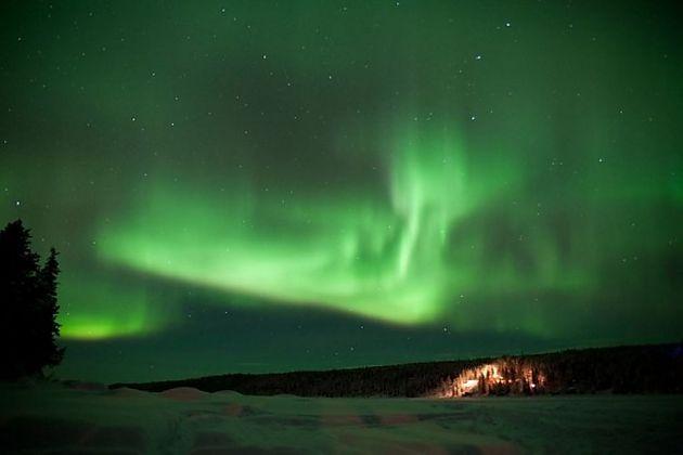 冰酒店第23次迎客 造访瑞典小镇Jukkasjarvi