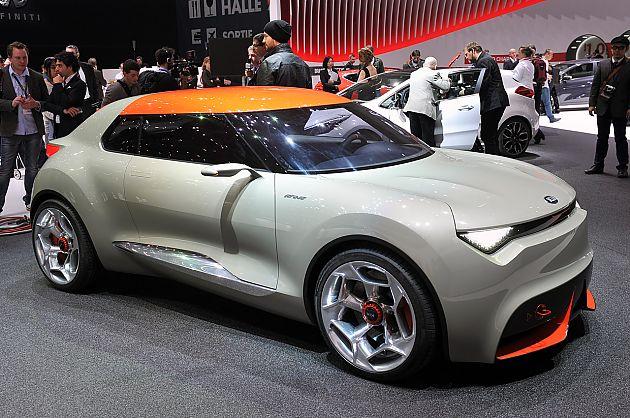 起亚Provo概念车发布 配备7速DCT变速箱