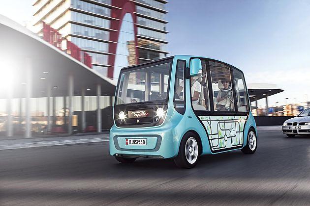 Rinspeed推出概念minibus
