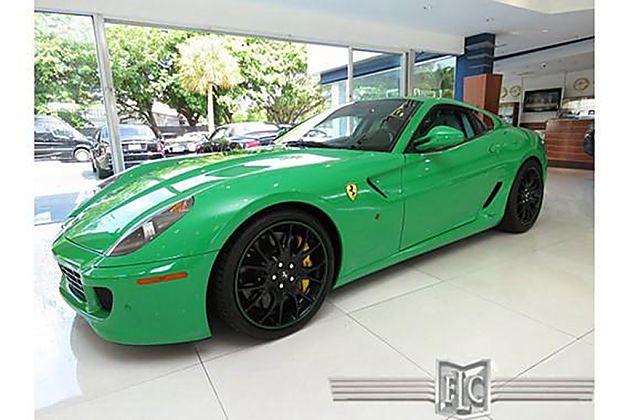 2007年款稀有绿色法拉利599 GTB出售