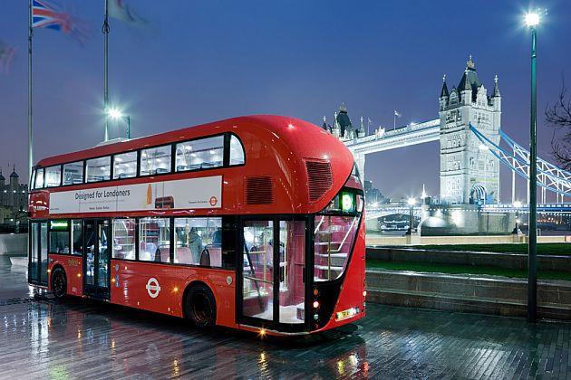 新外观新动力 伦敦双层巴士换代迎奥运