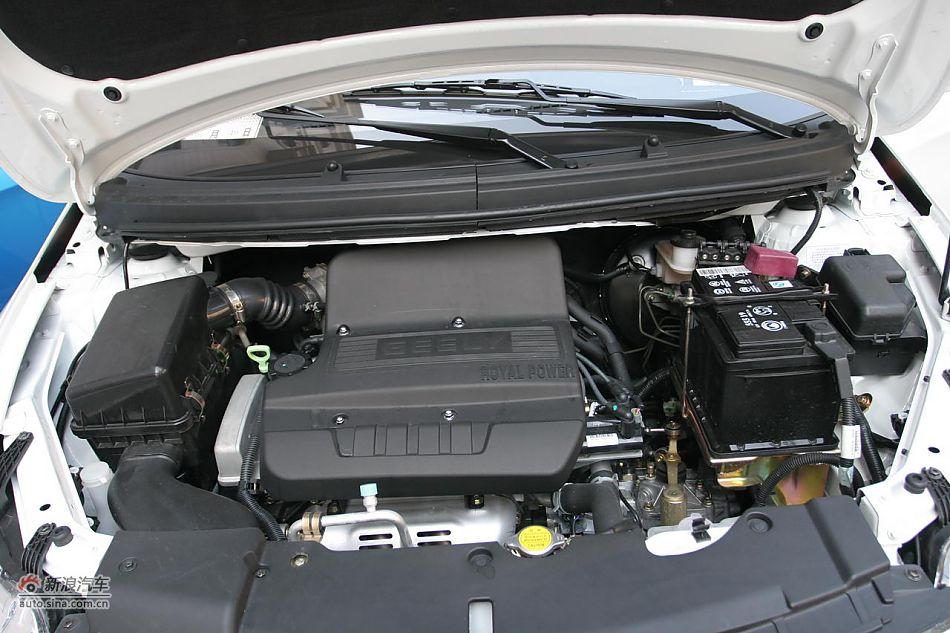英伦SC5-RV发动机及底盘