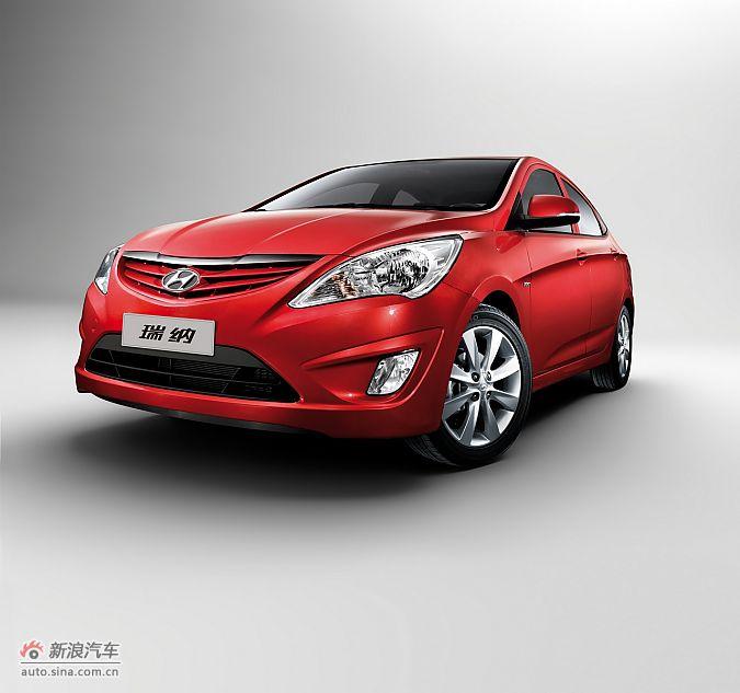 北京现代瑞纳-红色