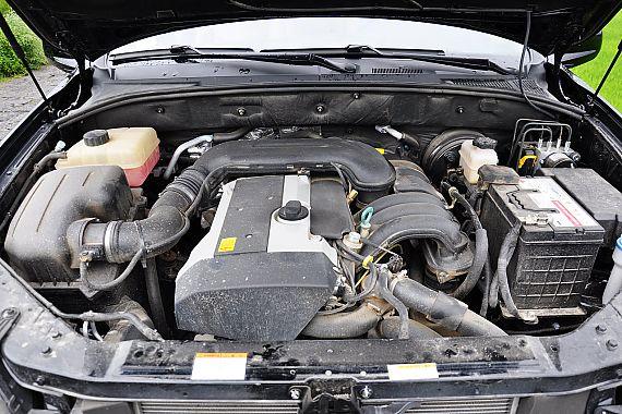 荣威W5引擎底盘