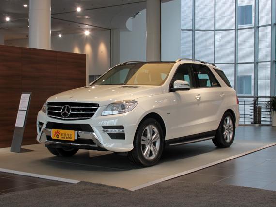 奔驰ML63AMG杭州现金优惠4万元部分现车