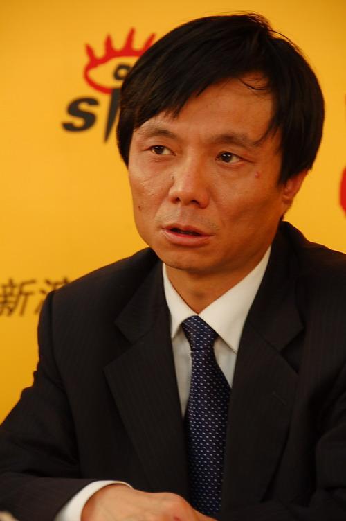 图为:北京汽修公司总工程师魏俊强先生