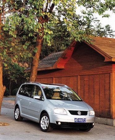 魔鬼细节 上海大众途安图片