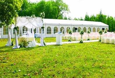 兴国宾馆 草坪婚礼